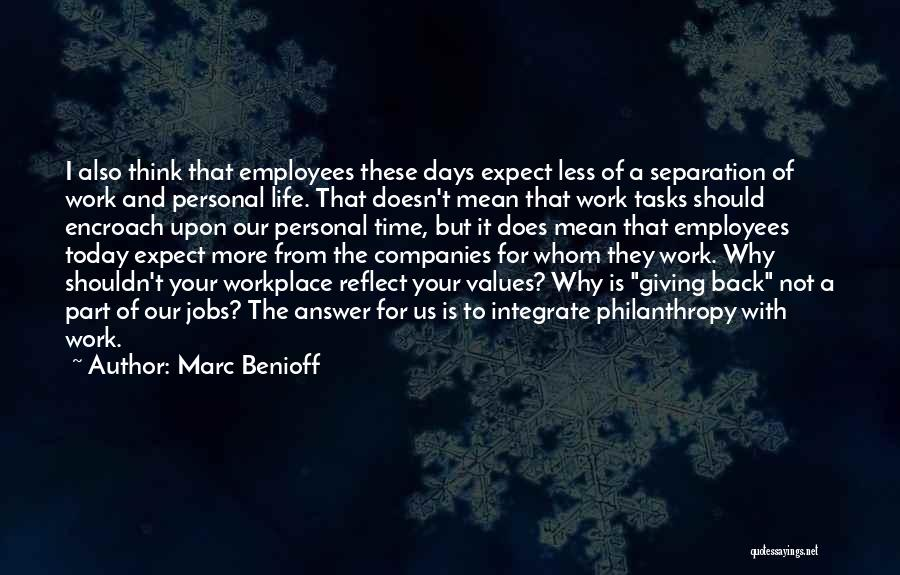 Giving Up Doesn't Mean Quotes By Marc Benioff