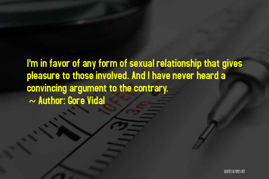 Giving Your Best In A Relationship Quotes By Gore Vidal
