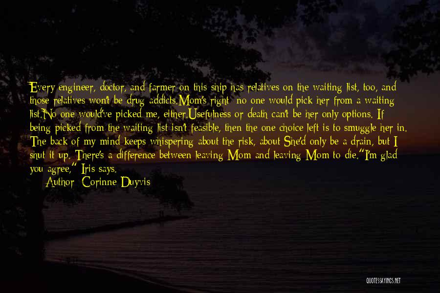 Glad You Left Quotes By Corinne Duyvis