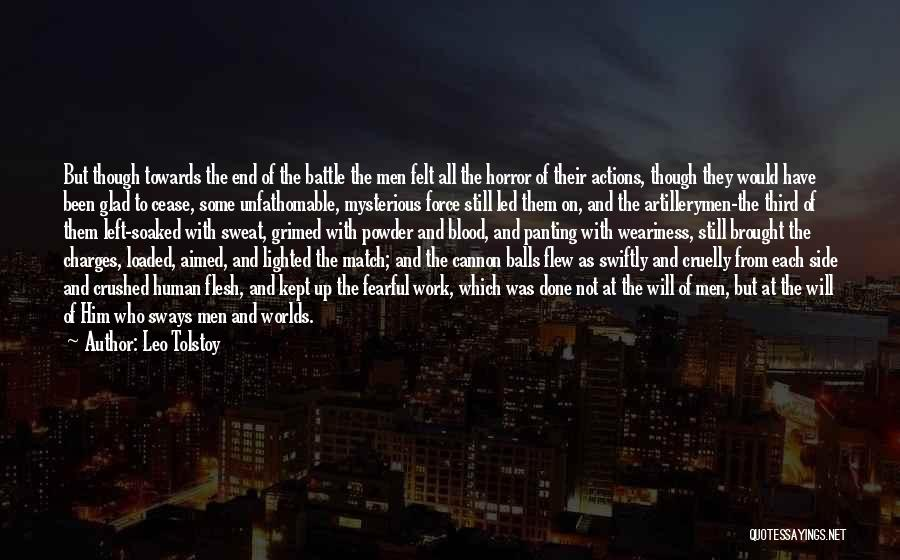 Glad You Left Quotes By Leo Tolstoy