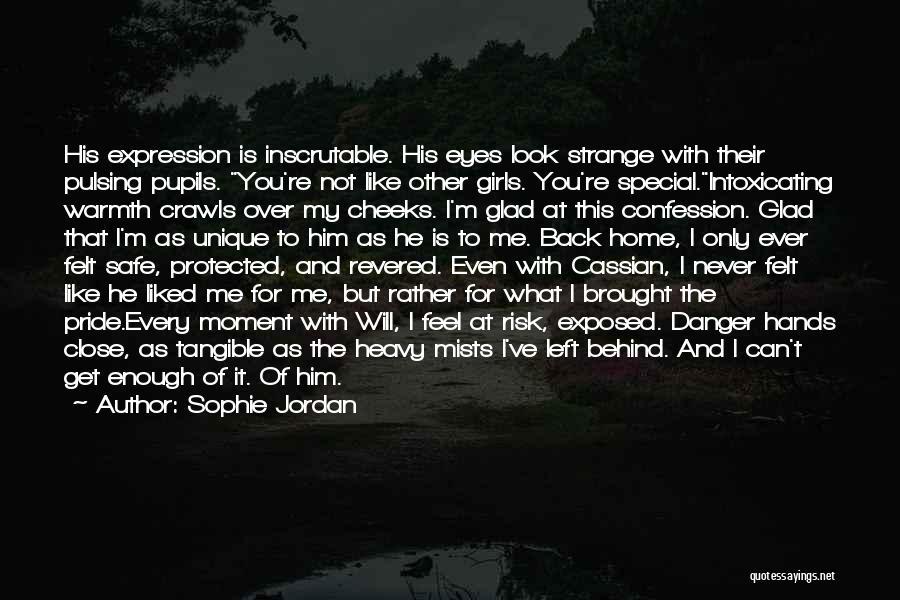 Glad You Left Quotes By Sophie Jordan