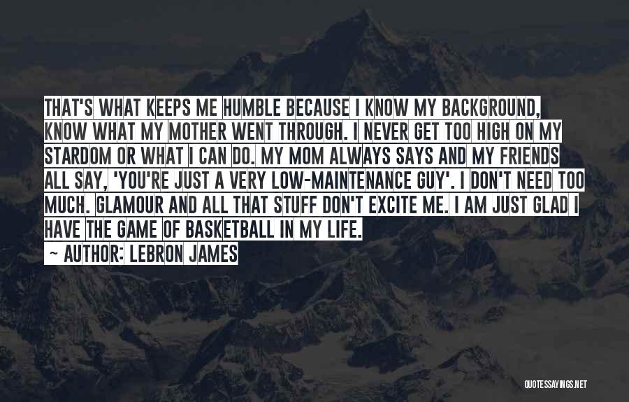 Glad You're In My Life Quotes By LeBron James