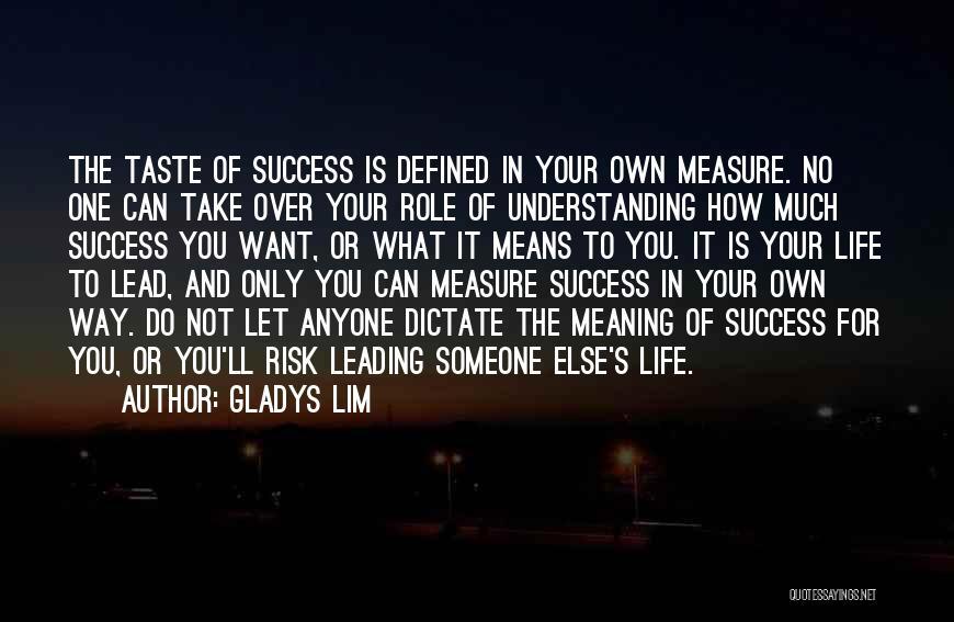 Gladys Lim Quotes 1643687