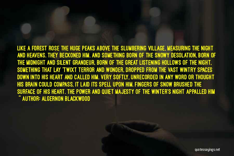Glamour Quotes By Algernon Blackwood