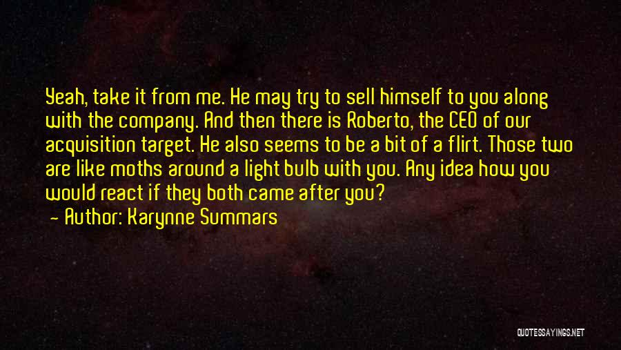 Glamour Quotes By Karynne Summars