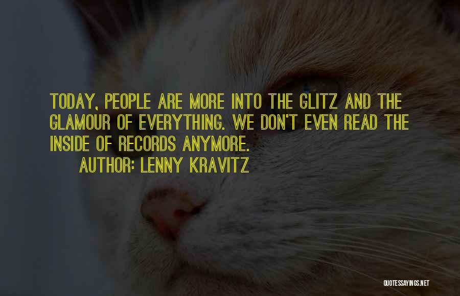 Glamour Quotes By Lenny Kravitz