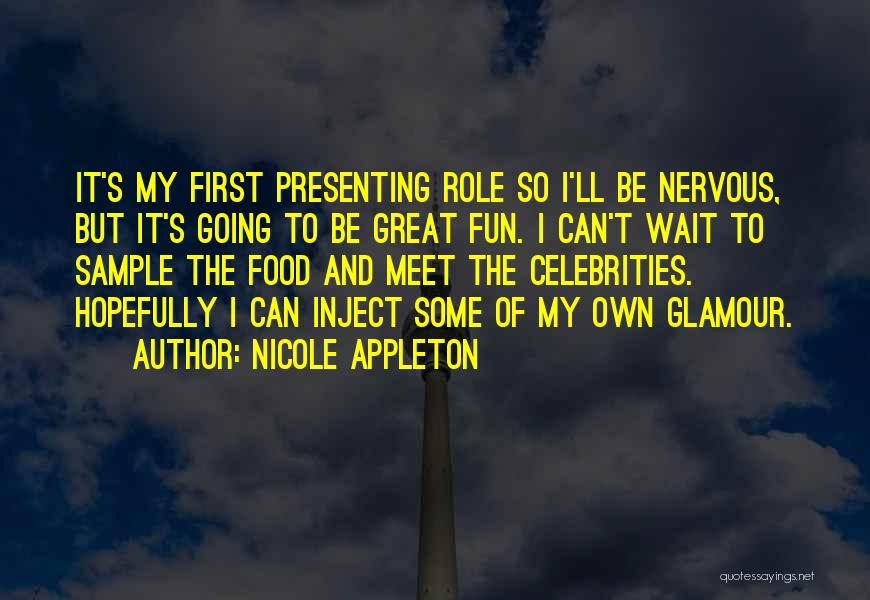 Glamour Quotes By Nicole Appleton