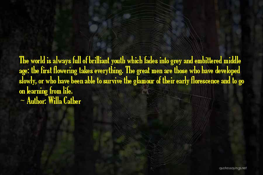 Glamour Quotes By Willa Cather
