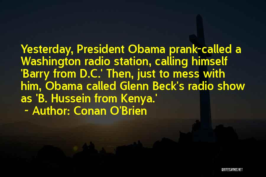 Glenn O'brien Quotes By Conan O'Brien