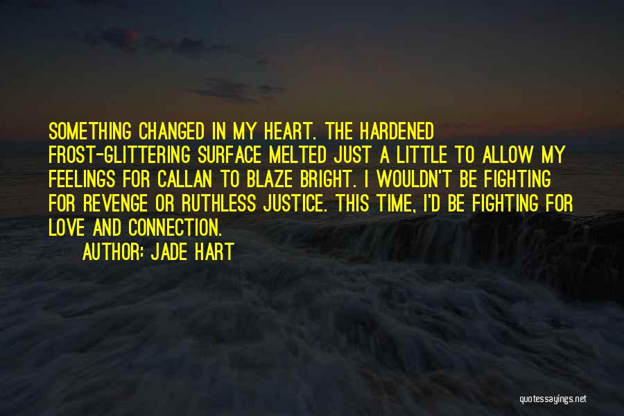 Glittering Love Quotes By Jade Hart