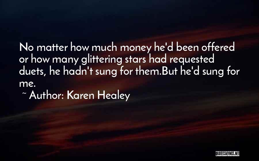 Glittering Love Quotes By Karen Healey