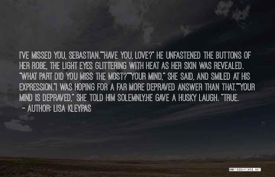Glittering Love Quotes By Lisa Kleypas