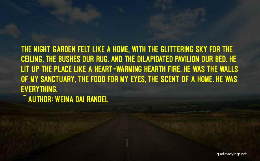 Glittering Love Quotes By Weina Dai Randel