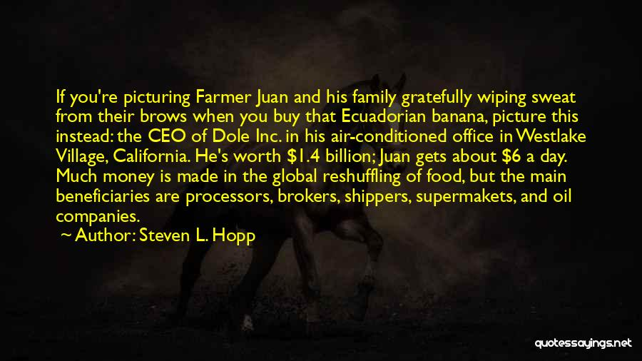 Global Family Day Quotes By Steven L. Hopp