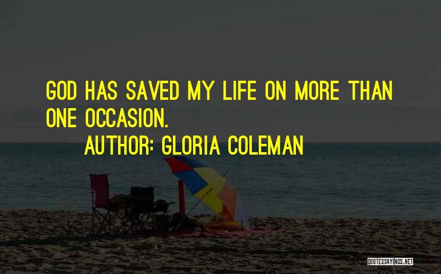 Gloria Coleman Quotes 997995