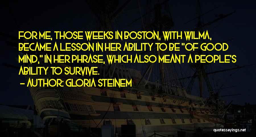 Gloria Steinem Quotes 1003280