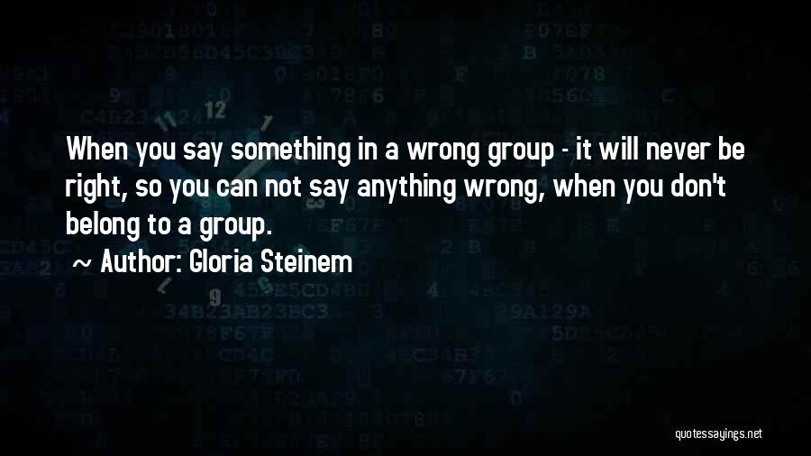 Gloria Steinem Quotes 977089