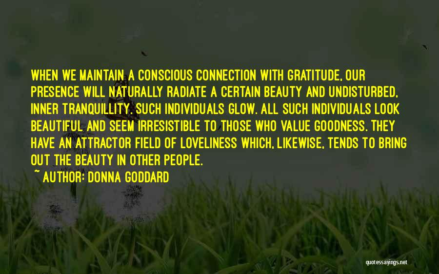 Glowing Beauty Quotes By Donna Goddard