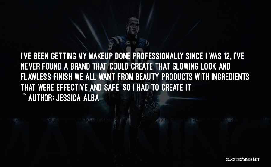 Glowing Beauty Quotes By Jessica Alba
