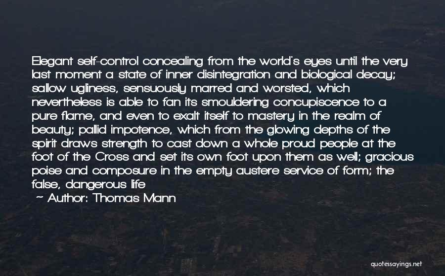 Glowing Beauty Quotes By Thomas Mann