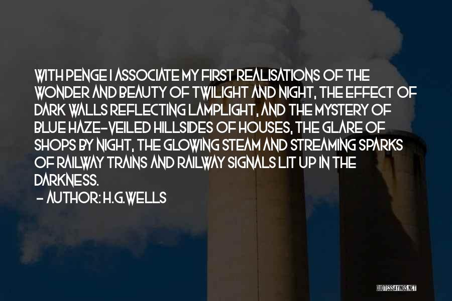 Glowing Up Quotes By H.G.Wells