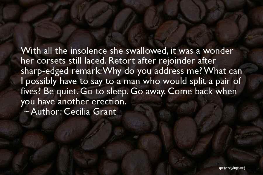 Go After Her Quotes By Cecilia Grant