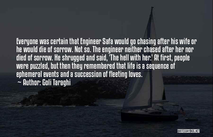 Go After Her Quotes By Goli Taraghi