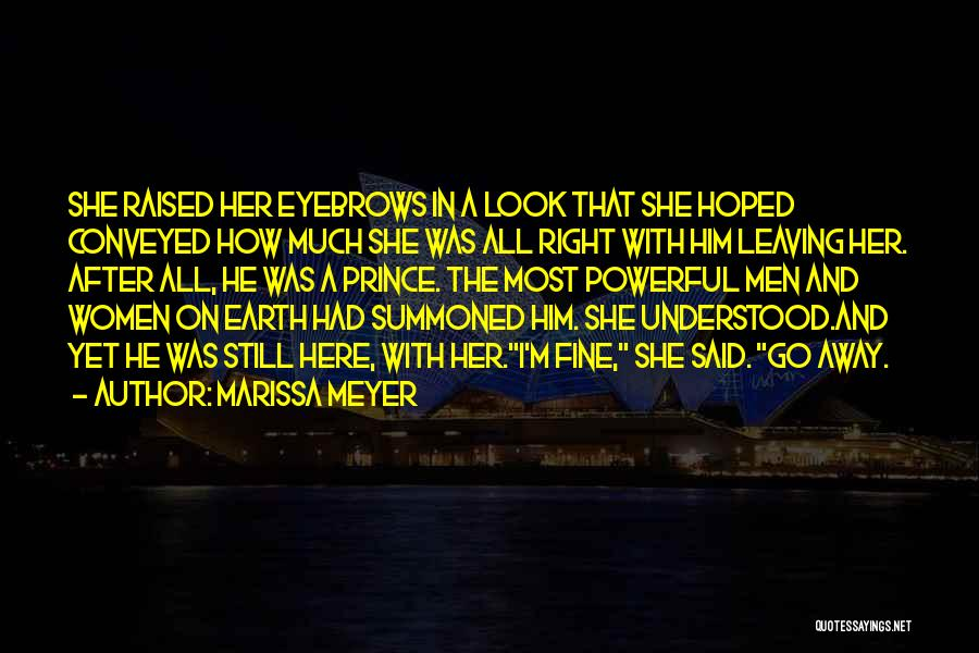 Go After Her Quotes By Marissa Meyer
