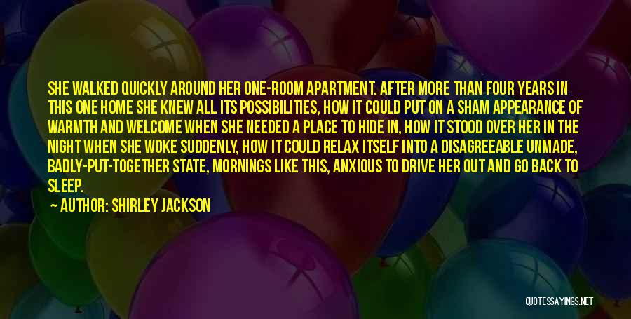Go After Her Quotes By Shirley Jackson