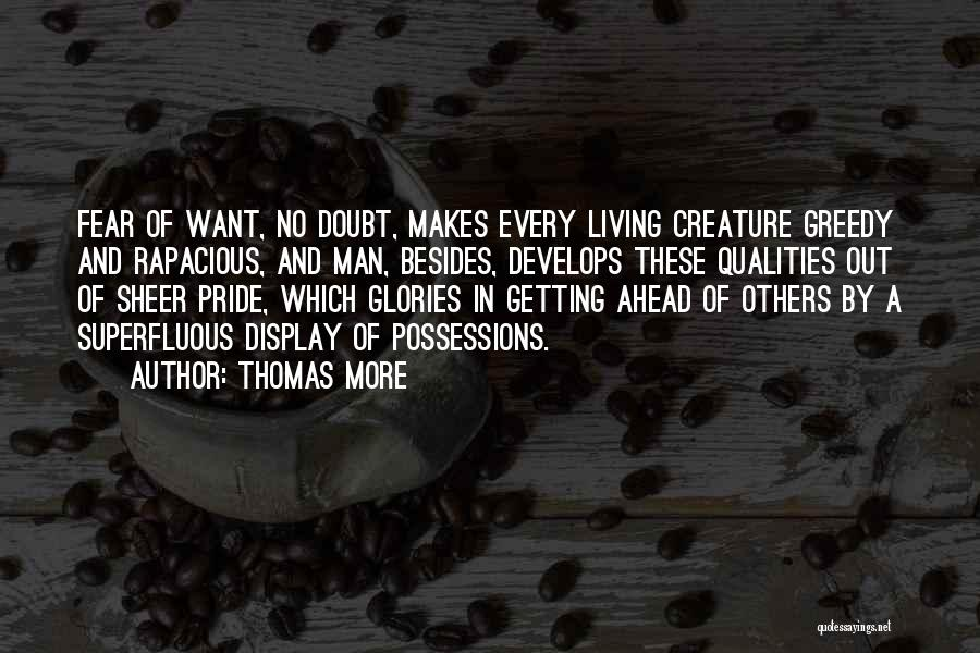 Go Ahead And Doubt Me Quotes By Thomas More