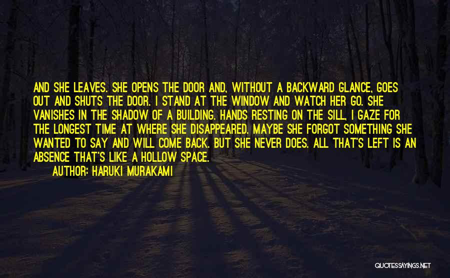 Go Back In Time Quotes By Haruki Murakami