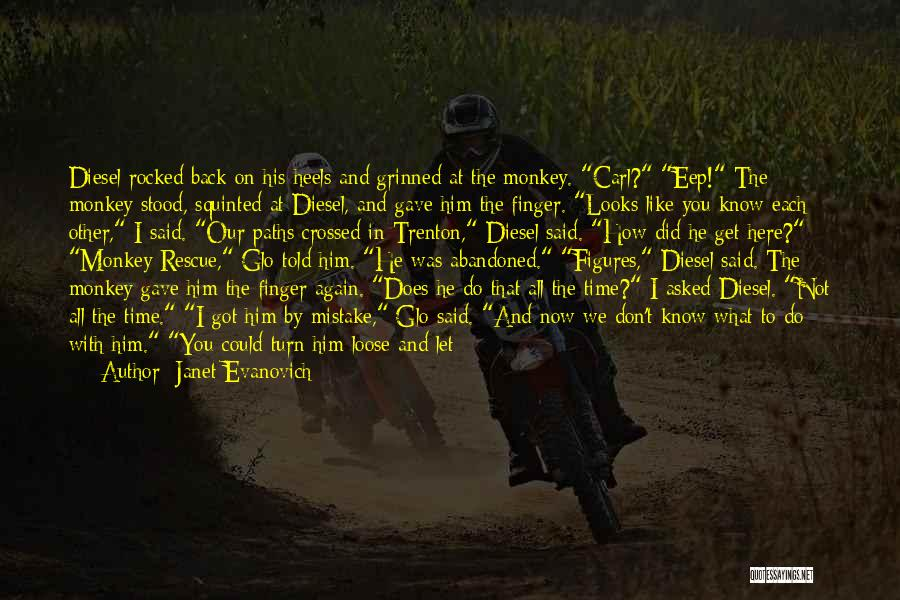 Go Back In Time Quotes By Janet Evanovich