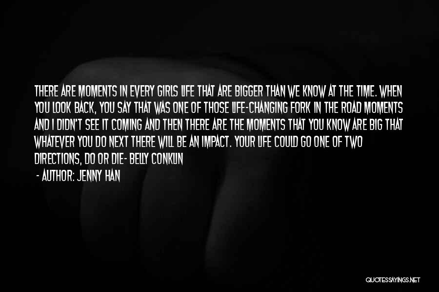 Go Back In Time Quotes By Jenny Han