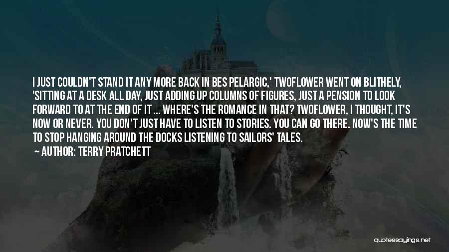 Go Back In Time Quotes By Terry Pratchett