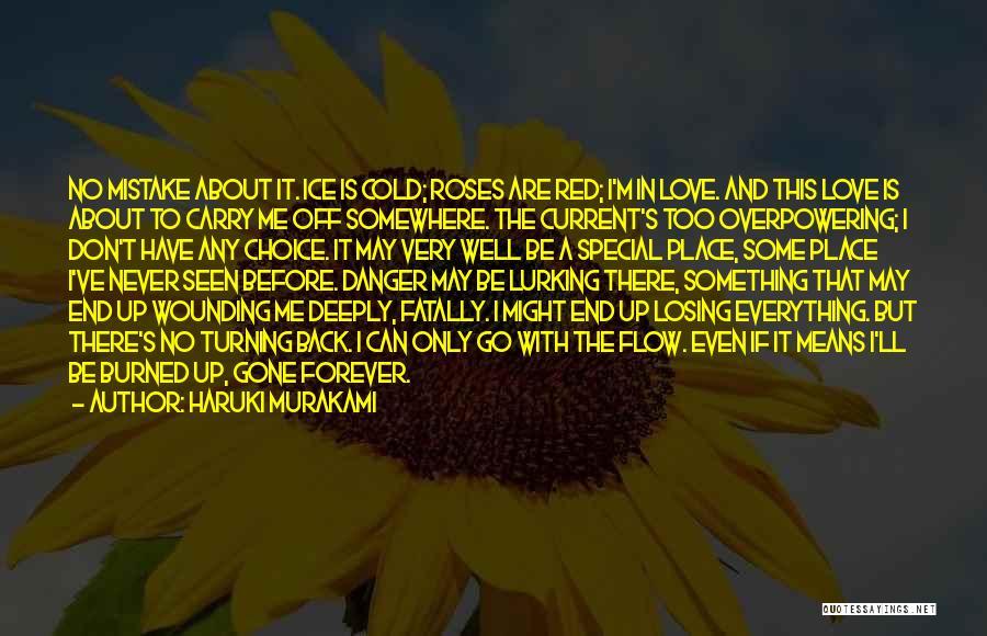 Go Back Love Quotes By Haruki Murakami