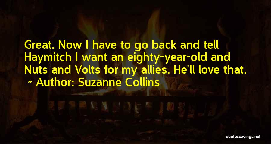 Go Back Love Quotes By Suzanne Collins