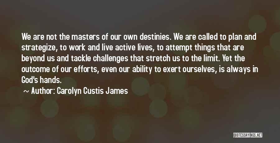 Go Beyond The Limit Quotes By Carolyn Custis James