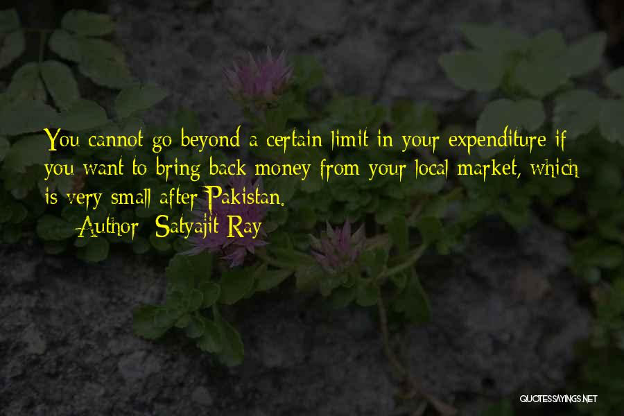 Go Beyond The Limit Quotes By Satyajit Ray
