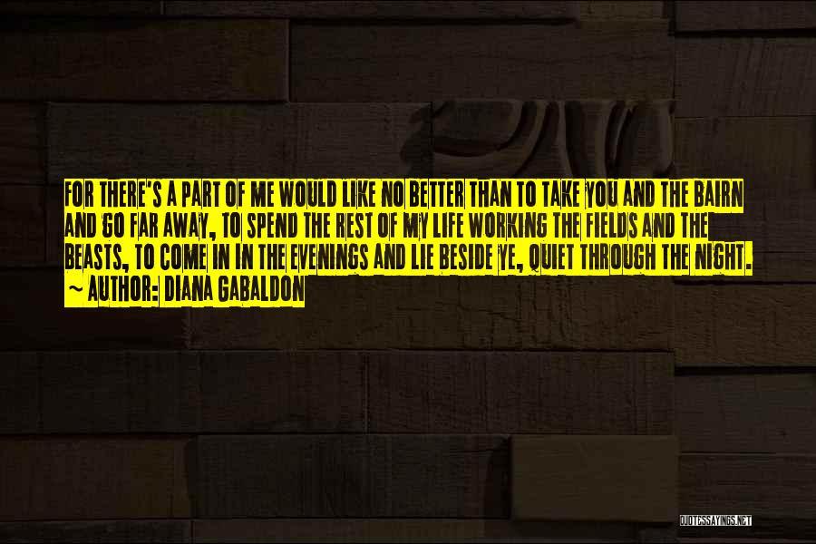 Go Far In Life Quotes By Diana Gabaldon
