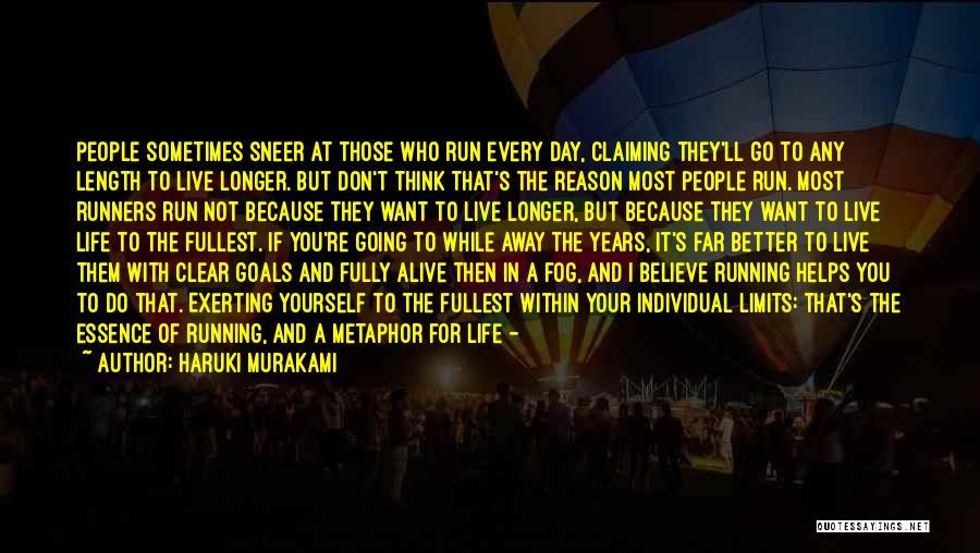 Go Far In Life Quotes By Haruki Murakami