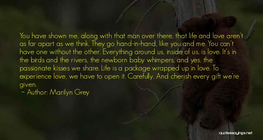 Go Far In Life Quotes By Marilyn Grey