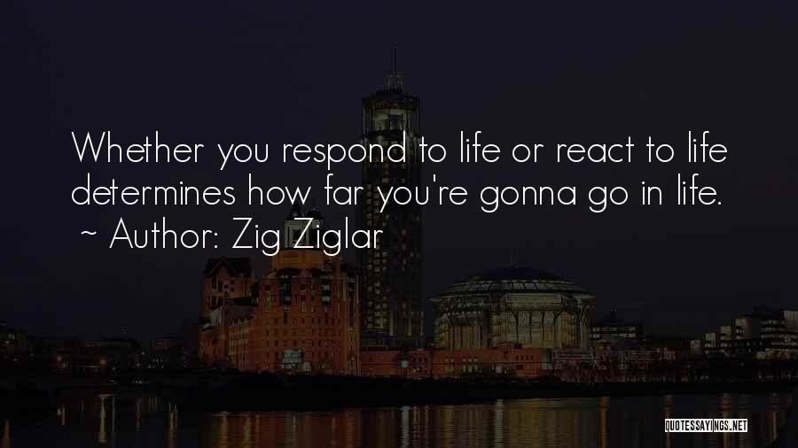 Go Far In Life Quotes By Zig Ziglar
