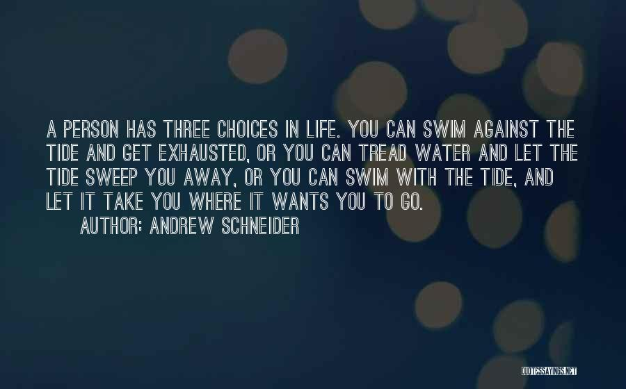 Go Get A Life Quotes By Andrew Schneider