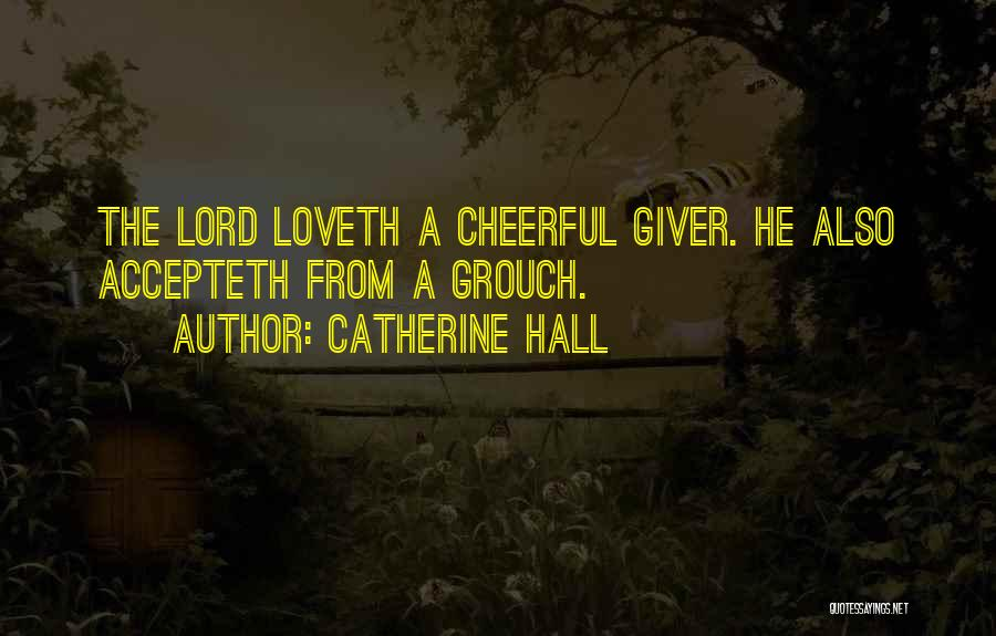 Go Giver Quotes By Catherine Hall