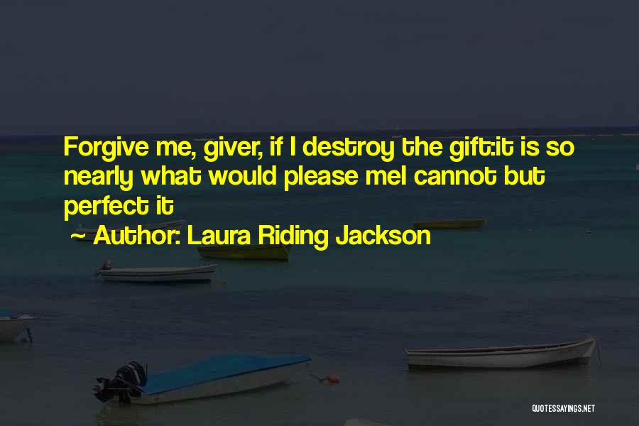 Go Giver Quotes By Laura Riding Jackson