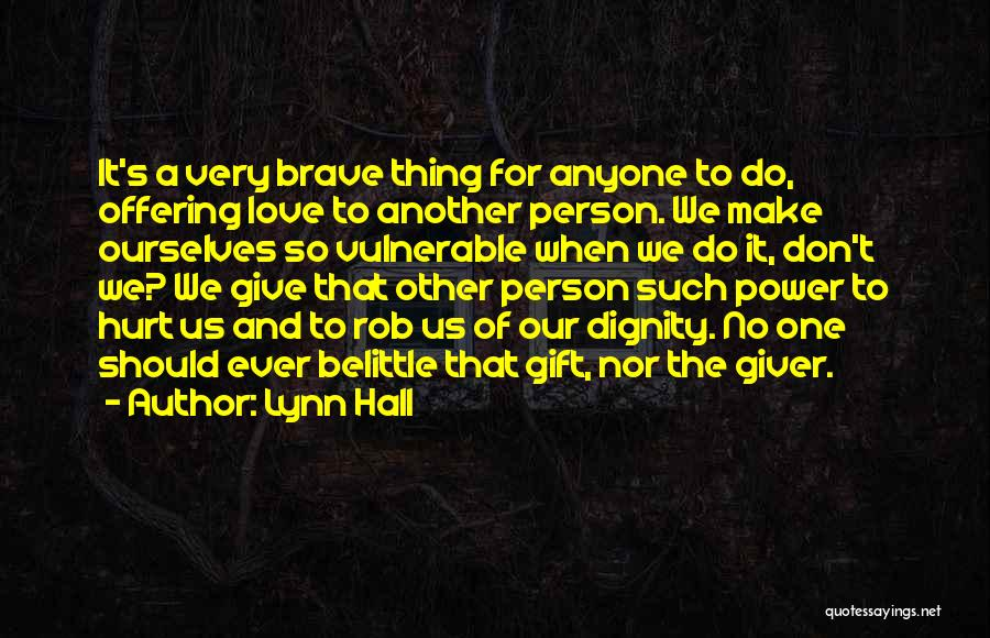 Go Giver Quotes By Lynn Hall