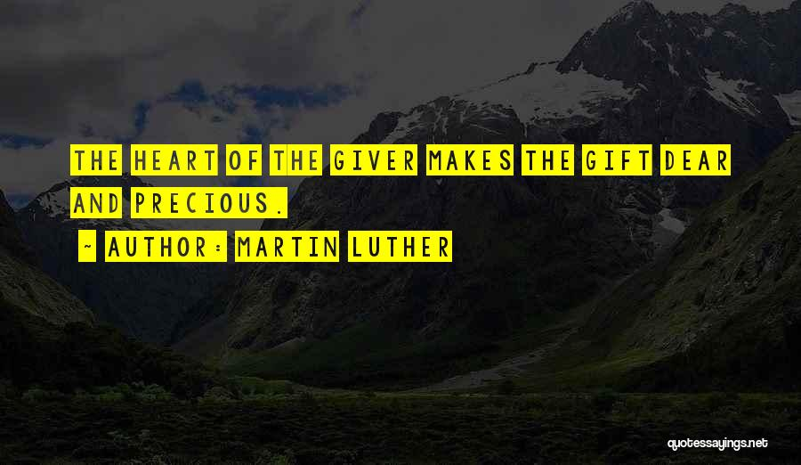 Go Giver Quotes By Martin Luther