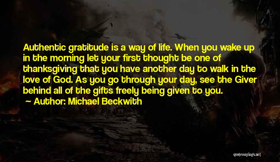 Go Giver Quotes By Michael Beckwith