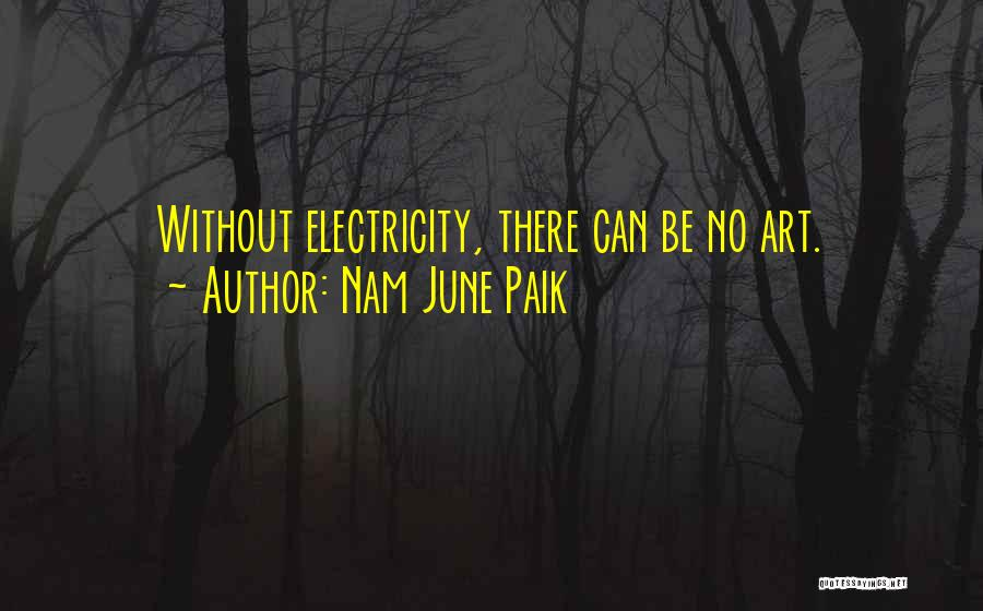 Go Nam Soon Quotes By Nam June Paik