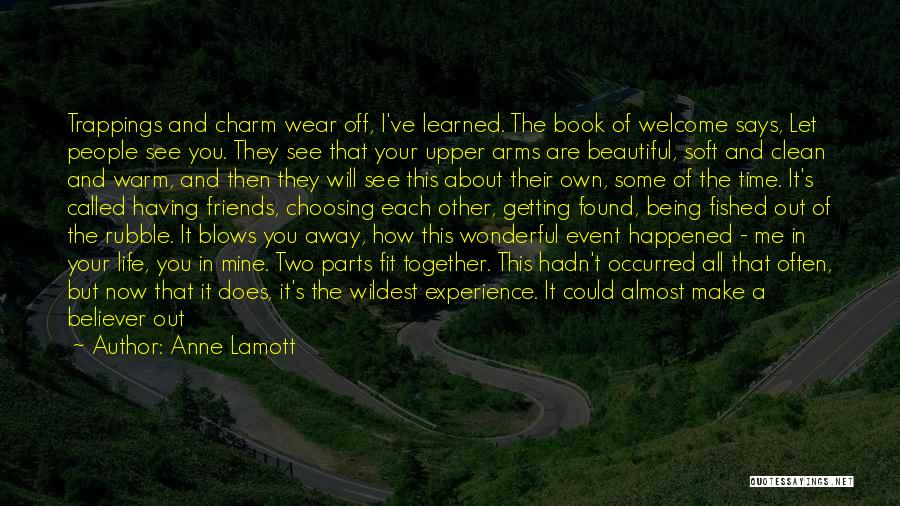 Go Out And Experience Life Quotes By Anne Lamott